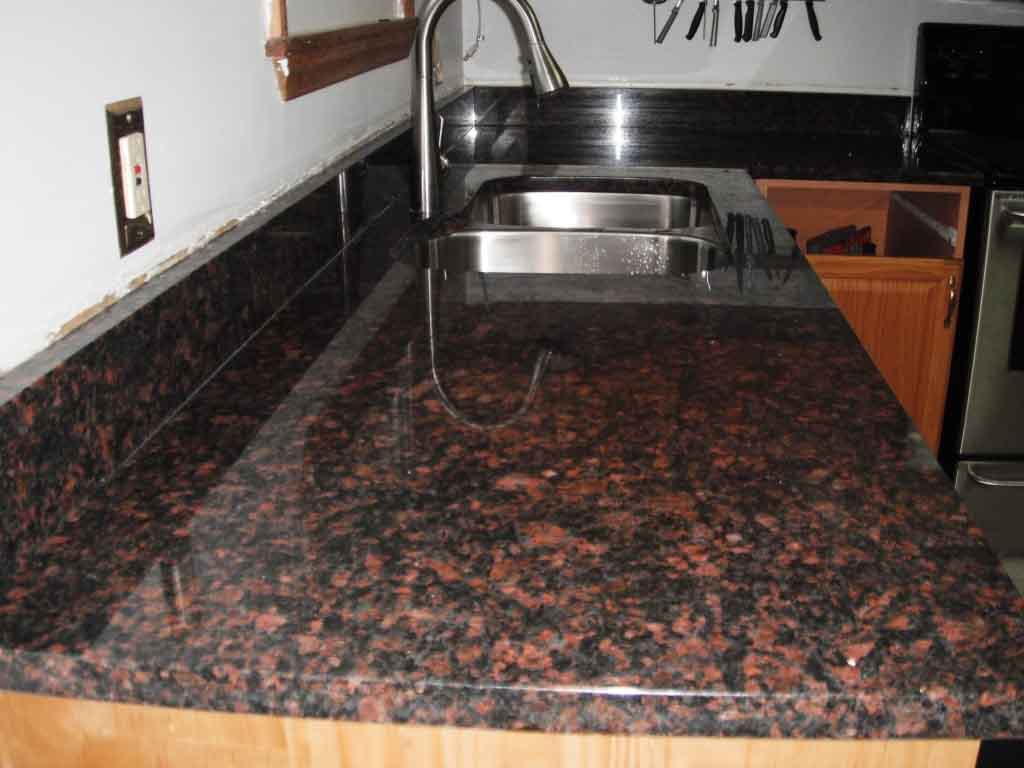 The Marble Touch Tan Brown Granite