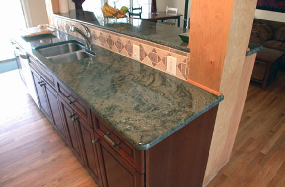 The Marble Touch  Tropical Green Granite